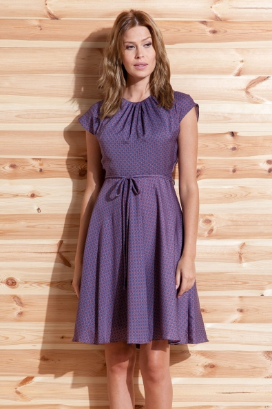 Sukienka Marsanna wzorzysta