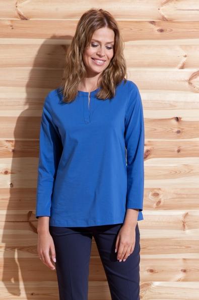 Bluzka Polo niebieska