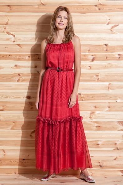 Suknia z jedwabiu róż indyjski