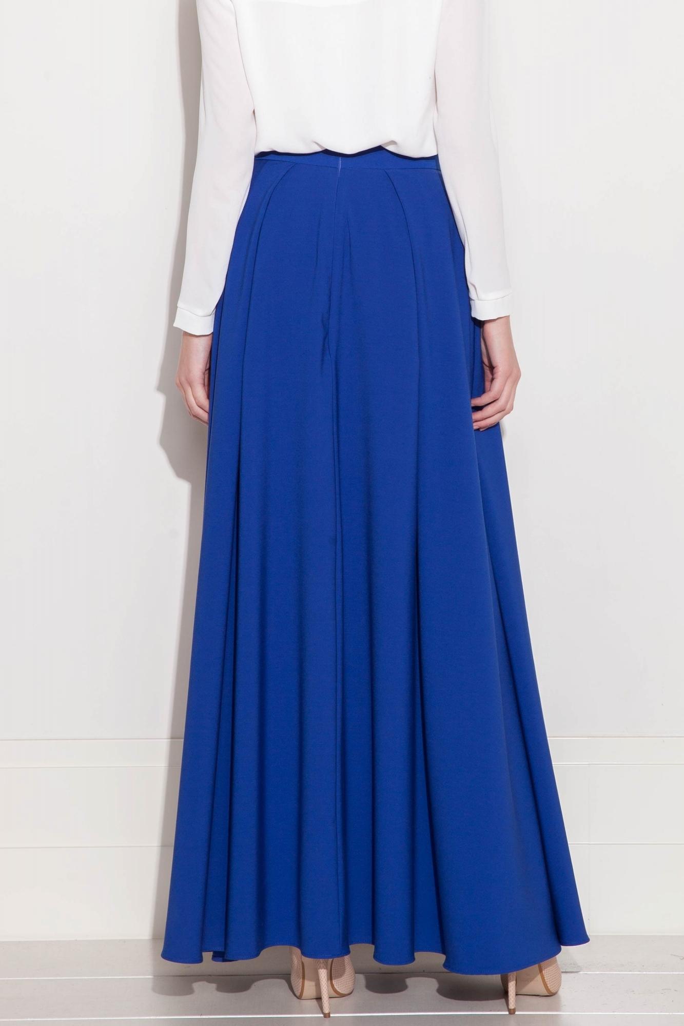 42da52420c Długa szeroka spódnica wieczorowa w kolorze szafirowym. Beata Cupriak