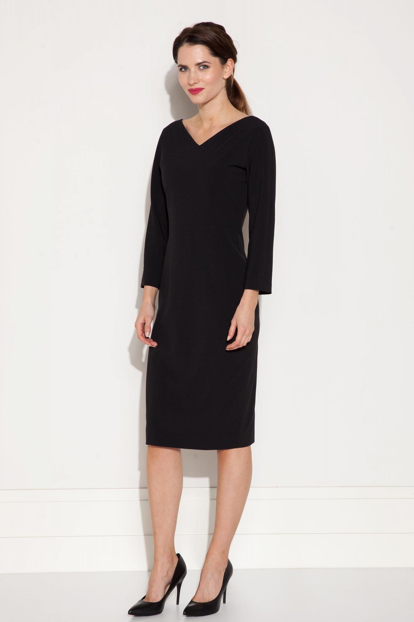 a51fecd6f Elegancka sukienka ołówkowa z rękawem 3/4 - Beata Cupriak e-sklep