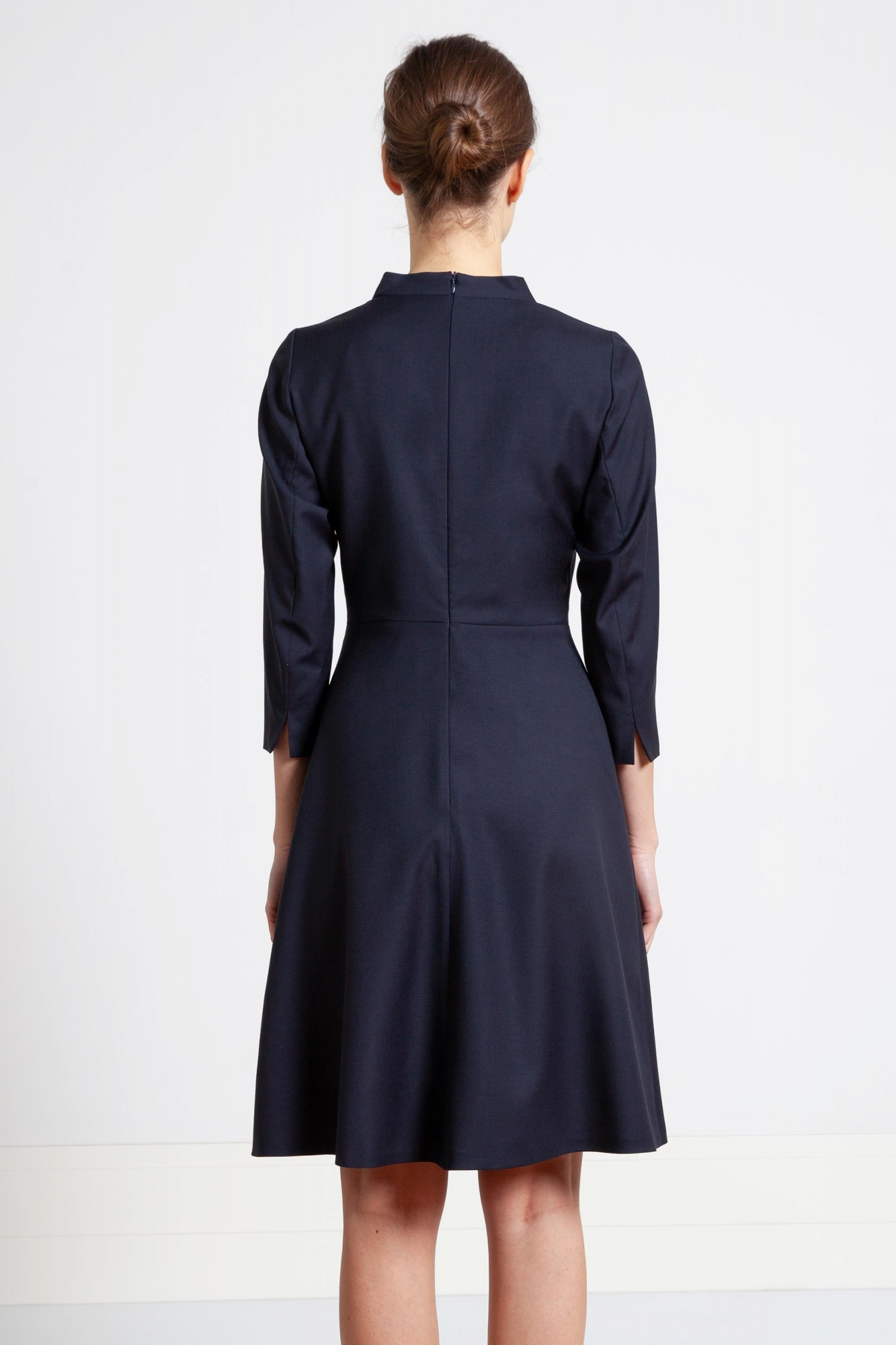 e8906c900e Szycie na miarę przez internet sukienka z cienkiej wełny.Beata Cupriak