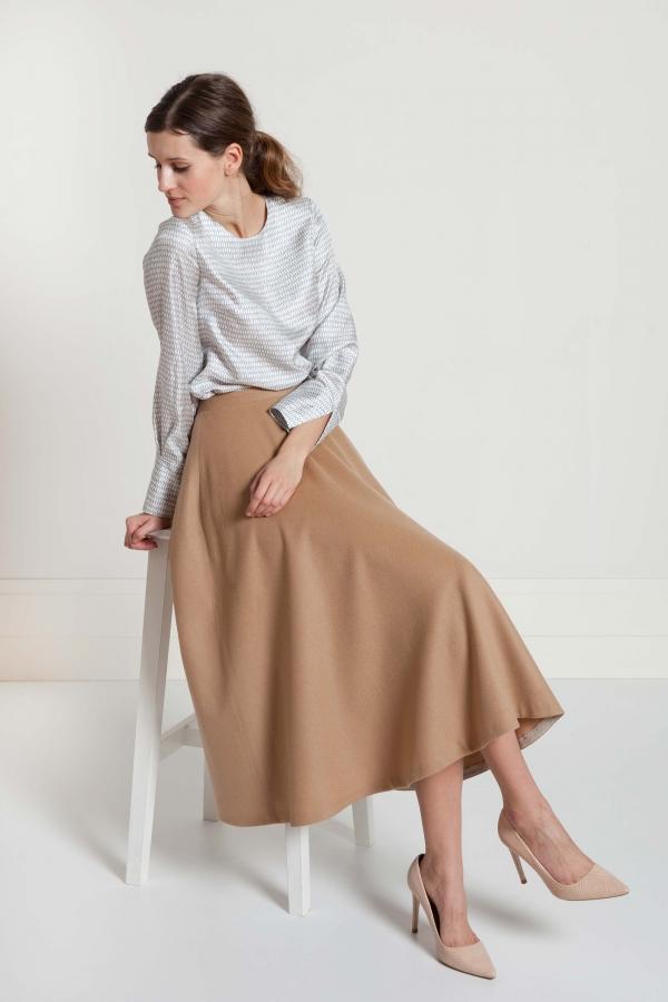 Spódnica z kaszmiru