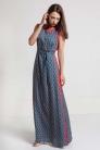 Długa sukienka na lato z wiskozy - Beata Cupriak