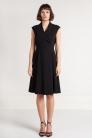 Sukienka Nora z wiskozy czarna