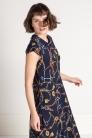 Długa sukienka na lato z wiskozy Beata Cupriak
