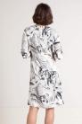 Sukienka wizytowa z wiskozy. Beata Cupriak
