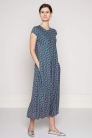 długa sukienka z wiskozy