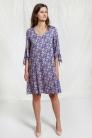 Sukienka Iris wzór paisley. Beata Cupriak