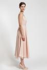 Dwuwarstwowa suknia z jedwabiu. Beata Cupriak