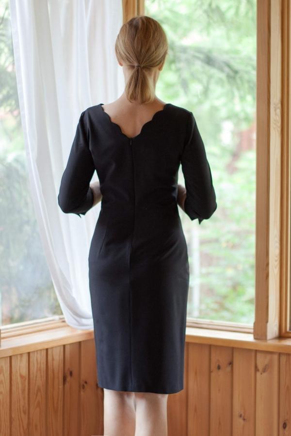 № 44 Sukienka z wełny