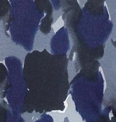 Granatowo szare wzorki