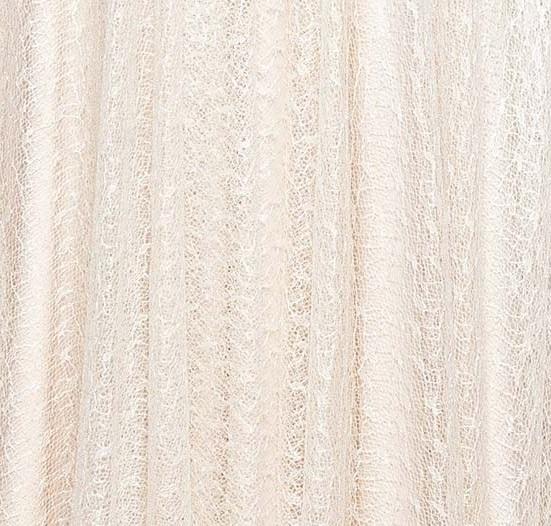 Beżowo-kremowa koronka